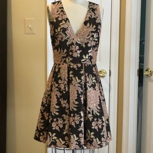 Alice & Olivia Jacquard Dress - Like New - Size 4